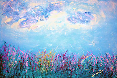 Painting - Simply Summer by Donna Proctor