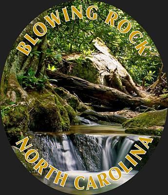 Photograph - Sims Creek Waterfall T-shirt by Meta Gatschenberger