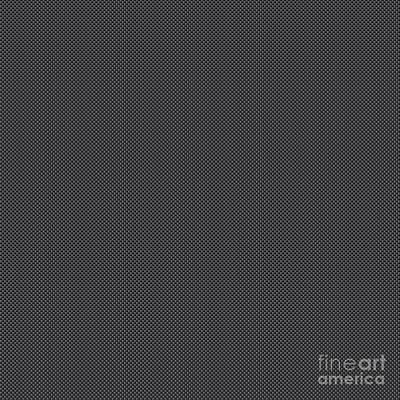 Polymer Digital Art - Simulated Black And Grey Carbon Fiber by Pod Artist