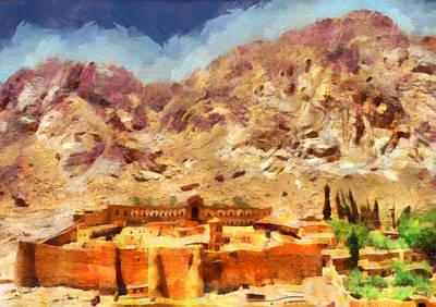 Sinai Monastery 1 Art Print