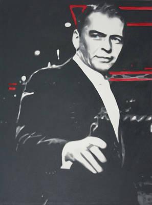 Frank Sinatra Painting - Sinatra 2013 by Luis Ludzska