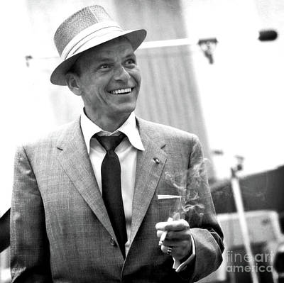 Photograph - Sinatra In Rehearsals by Doc Braham