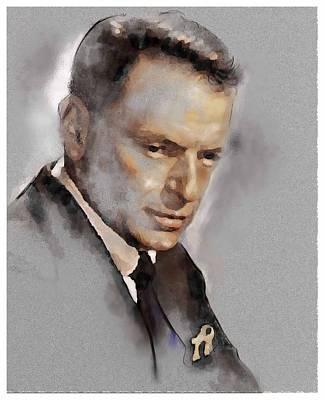 Sinatra Art Print by James Robinson