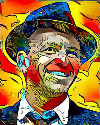 Painting - Sinatra by Paul Van Scott