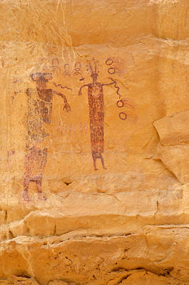 Photograph - Sinbad Pictograph  by Tranquil Light  Photography