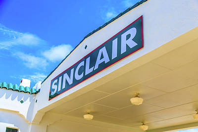 Photograph - Sinclair Sign  by Doug Camara