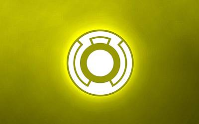 Artwork Digital Art - Sinestro Corps by Super Lovely