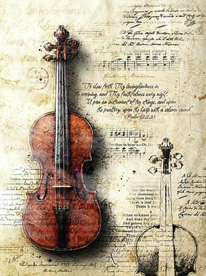 Digital Art - Sinfonia Dell'alba by Gary Bodnar