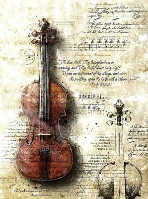 Digital Art - Sinfonia Dell'alba II by Gary Bodnar