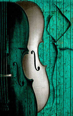 Digital Art - Sinful Violin by Greg Sharpe