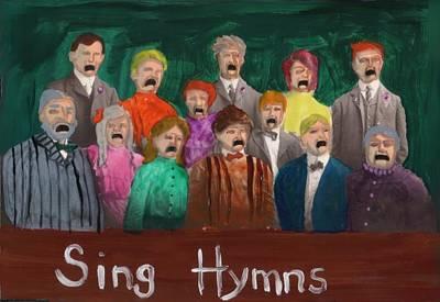 Painting - Sing Hymns by JoLynn Potocki