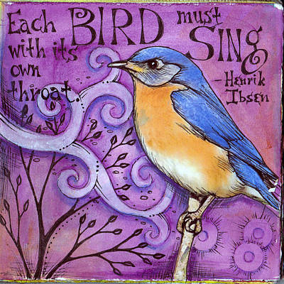 Sing Art Print by Vickie Hallmark