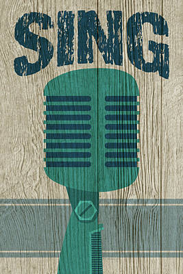 Digital Art - Sing by WB Johnston