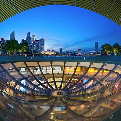 Singapore - Marina Bay Sands Art Print by Ng Hock How
