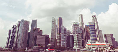 Photograph - Singapore Cityscape The Second by Joseph Westrupp