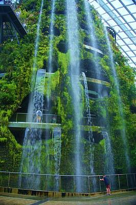Photograph - Singapore Cloud Forrest 11 by Phyllis Spoor