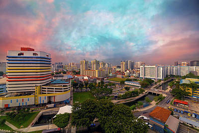 Photograph - Singapore Rochor Commercial And Residential Mixed Area by David Gn