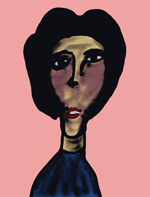 Drawing - Singer by Bill Owen