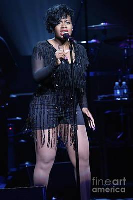 Hip Hop Soul Photograph - Singer Fantasia by Concert Photos