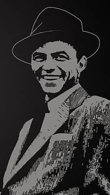 Singer Photograph - Singer Frank Sinatra Music 74452 300x532 by Mery Moon