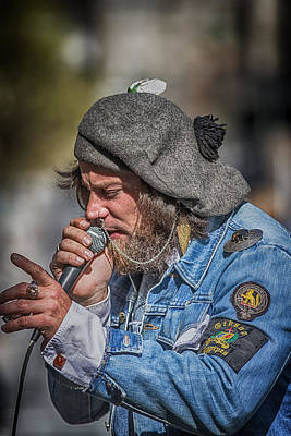 Photograph - Singer Gotta Sing by John Haldane