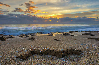 Photograph - Singer Island Ocean Reef Park Sunset  by Juergen Roth