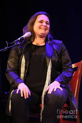 Photograph - Singer Madeleine Peyroux by Concert Photos
