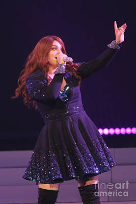 Photograph - Singer Meghan Trainor by Concert Photos