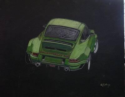 Pastel - Singer Porsche 2 by Richard Le Page