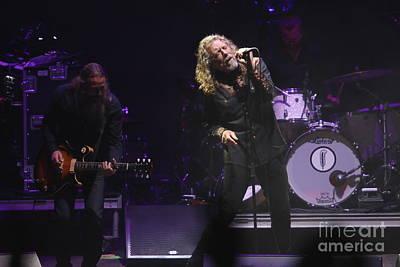 Photograph - Singer Robert Plant by Concert Photos