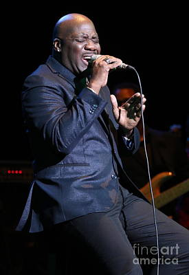 Photograph - Singer Will Downing by Concert Photos