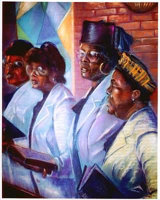 Singin His Praises Art Print by Tommy  Winn
