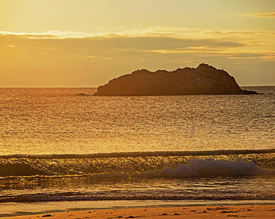 Photograph - Singing Beach Manchest By The Sea Warm Morning Glow by Toby McGuire