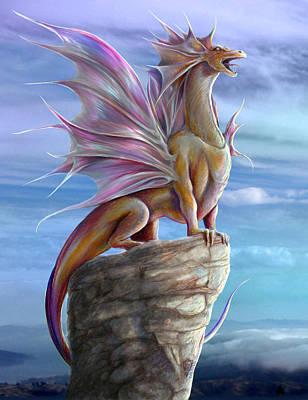 Digital Art - Singing Dragon by Rob Carlos