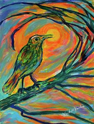 Painting - Singing Into The Light by Kendall Kessler