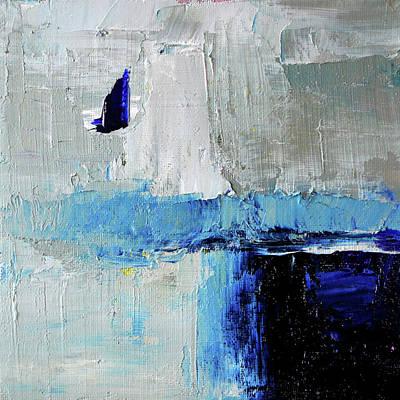 Painting - Singing The Blues by Nancy Merkle