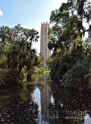 Photograph - Singing Tower Reflection by Carol  Bradley