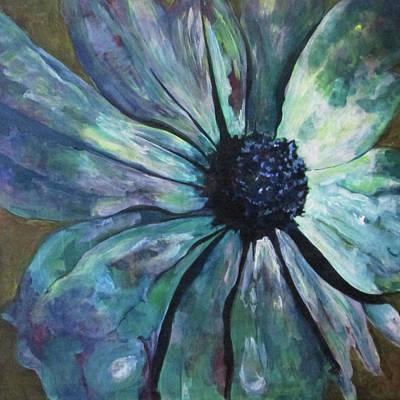Painting - Single Attendant by Cynthia Matthews