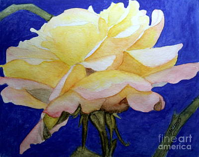 Painting - Single Bloom Of Glory by Carol Grimes