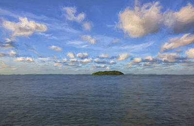 Digital Art - Single Island II by Jon Glaser