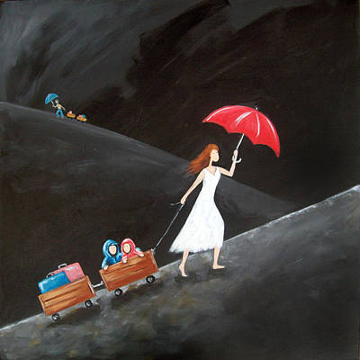Single Mum Comes With Baggage Original by Ira Mitchell-Kirk