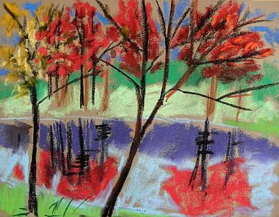Single Red Beauty Original by John Williams