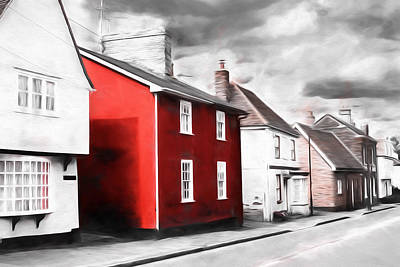 Photograph - Single Red Painted House by John Williams