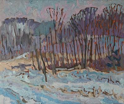 Singleton April Snow Original by Phil Chadwick