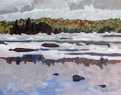 Arctic Air Painting - Singleton Arctic Smoke by Phil Chadwick