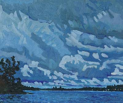 Painting - Singleton Cold Front Showers by Phil Chadwick