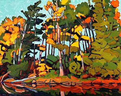 Meteorologist Painting - Singleton Fall by Phil Chadwick