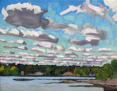 Arctic Air Painting - Singleton Sc Streets by Phil Chadwick