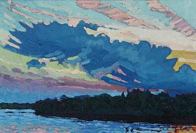 Painting - Singleton Sunset Convection by Phil Chadwick