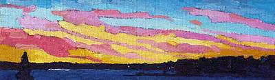 Painting - Singleton Sunset Shades by Phil Chadwick